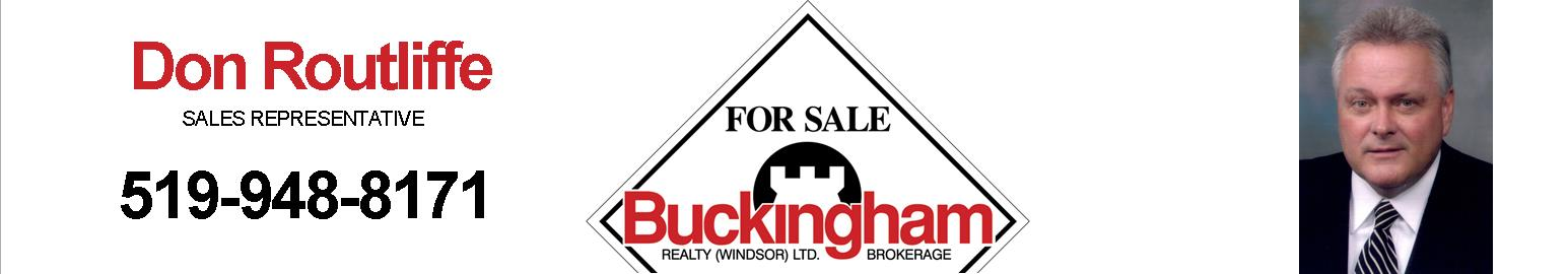 Don Routliffe, Buckingham Realty